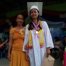 High school Graduate Josephine.